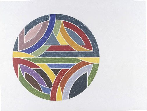 An image of Sinjerli variation IV by Frank Stella