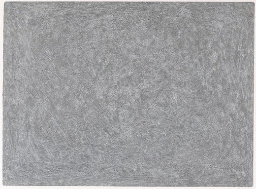 An image of Untitled (pale grey horizontal) by Allan Mitelman