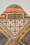 Alternate image of Yellow embroidered cape by Miao people