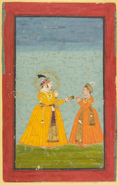 An image of Rana Jagat Singh II and Pratap Singh II by