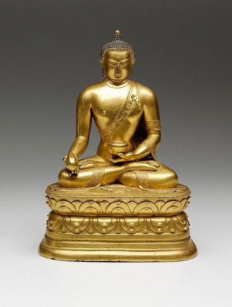 An image of Manla, the Medicine Buddha by