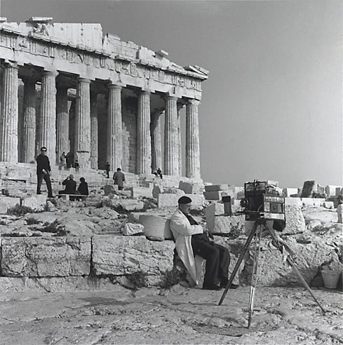 An image of Tintype photographer, Parthenon, Athens