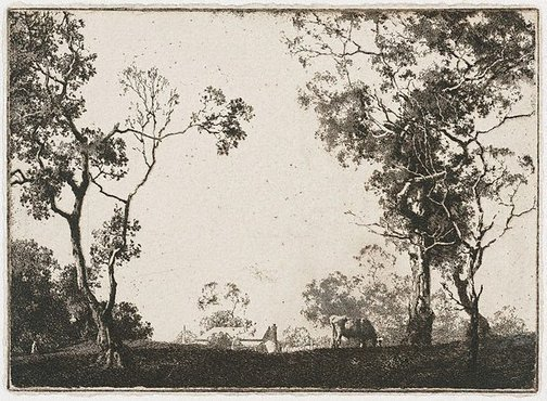 An image of Landscape by Percy Leason