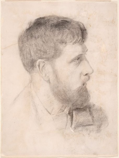An image of Arthur Streeton (Smike) by Tom Roberts