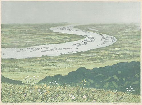 An image of A river of the wetland