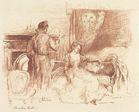 An image of Coralie by Charles Conder
