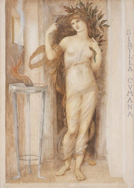 An image of Sibylla Cumana by Sir Edward Burne-Jones