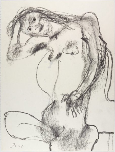 An image of Female nude by John Olsen