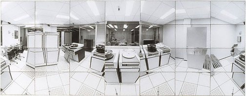 An image of Company time - company space (Computer room CSR head office, Sydney) by John F Williams