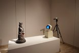 Alternate image of TV Buddha by Nam June Paik