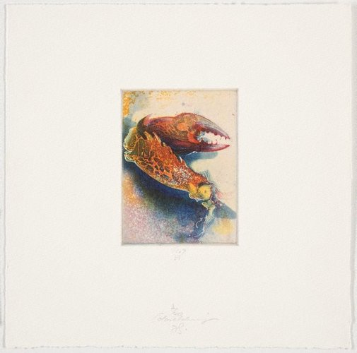 An image of Colour etching by Jörg Schmeisser