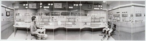 An image of Boiler Station, Control room, John Martina, Geoff Ellis, Victoria Mill, Ingham by John F Williams