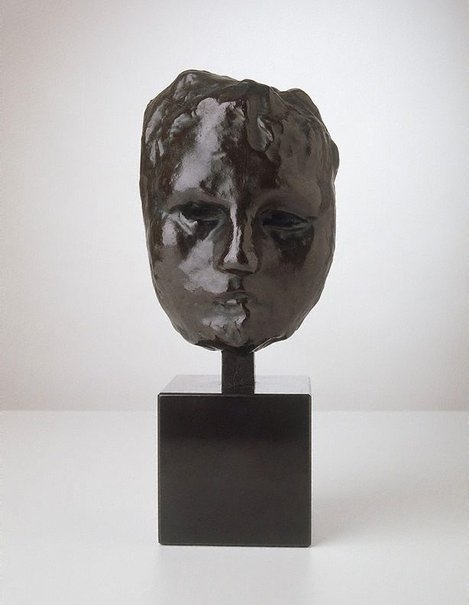 An image of Masque d'Iris Moyen by Auguste Rodin