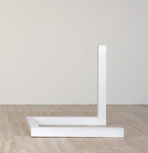 An image of Incomplete open cube 4/5 by Sol LeWitt