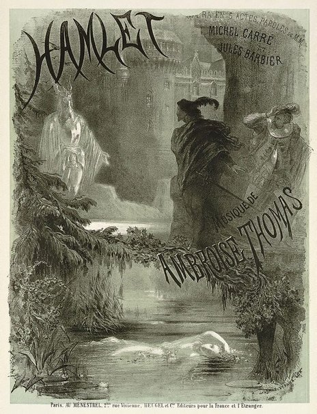 An image of Hamlet by Alphonse de Neuville