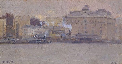 An image of (Circular Quay) by Tom Roberts