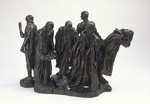An image of Second Maquette for the Burghers of Calais by Auguste Rodin