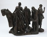 Alternate image of Second Maquette for the Burghers of Calais by Auguste Rodin