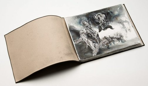 An image of Sketchbook by James Gleeson