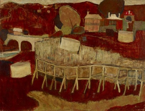 An image of Sofala by Brett Whiteley