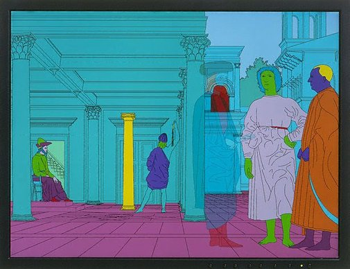 An image of Deconstructing Piero by Sir Michael Craig-Martin