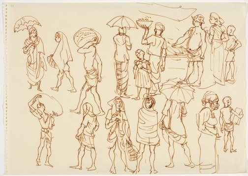 An image of Sketchbook, Sri Lanka by Donald Friend