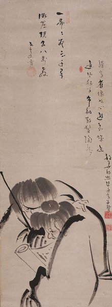 An image of Kanzan and Jittoku by JIUN Sonja, YUSHO Zakkean