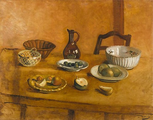 An image of Still life by André Derain