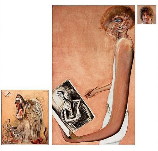 An image of Art, life and the other thing by Brett Whiteley