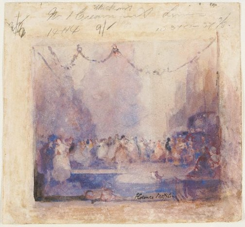 An image of (Ballroom dance) by Florence Turner Blake
