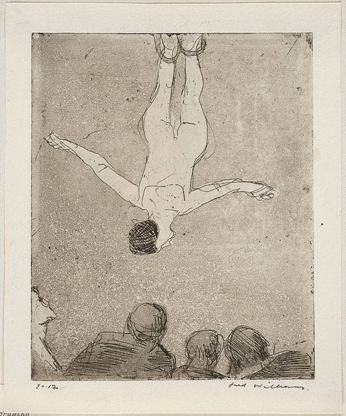 An image of Trapeze by Fred Williams
