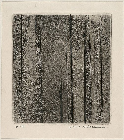 An image of Sherbrooke Forest number 4 by Fred Williams
