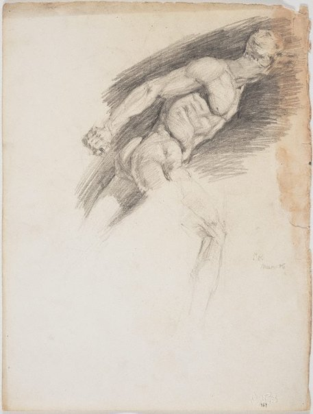 An image of 'Borghese' warrior or gladiator by Lloyd Rees