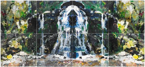 An image of Fairy Bower Rorschach by Ben Quilty