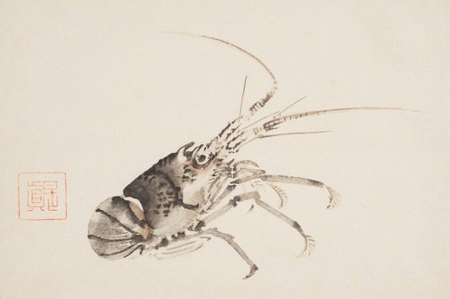 An image of Crayfish by Shibata ZESHIN