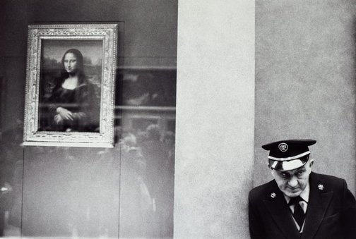 An image of In the Louvre, Paris by John F Williams