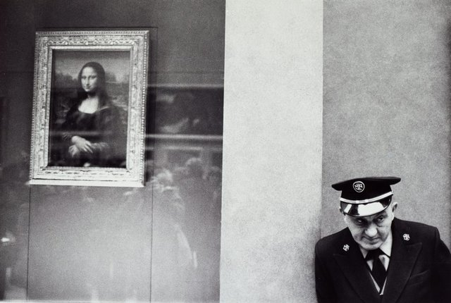 An image of In the Louvre, Paris