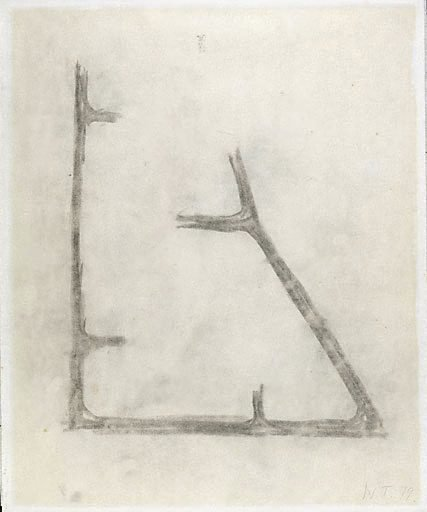 An image of Study for sculpture by William Tucker
