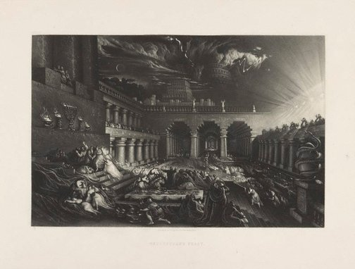 An image of Belshazzar's Feast by John Martin