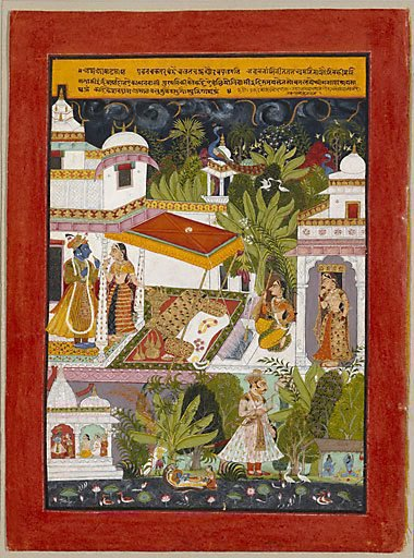 An image of The month of Ashadha (June-July) by