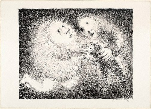 An image of The gift of the lamb by Arthur Boyd