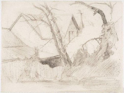 An image of The Cedars, Hahndorf by Nora Heysen