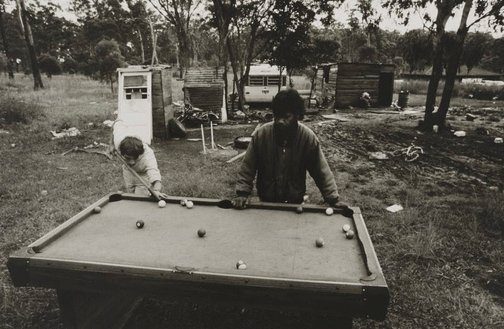 An image of Pool game, Burnt Bridge by Mervyn Bishop