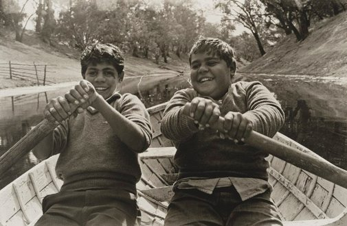An image of Cousins, Ralph and Jim, Brewarrina by Mervyn Bishop