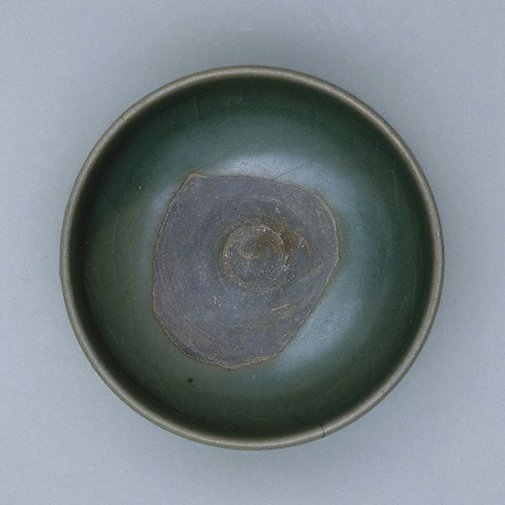 An image of Summer tea bowl by Jun ware