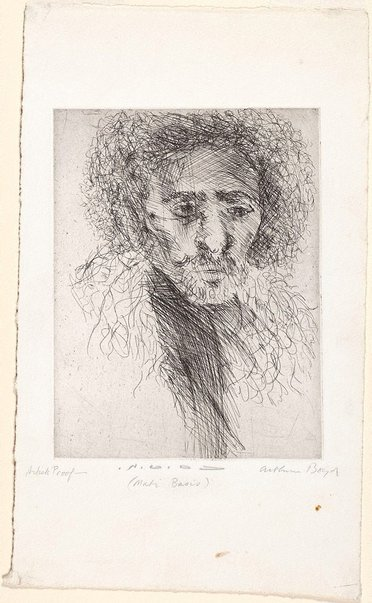 An image of Mati Basis by Arthur Boyd