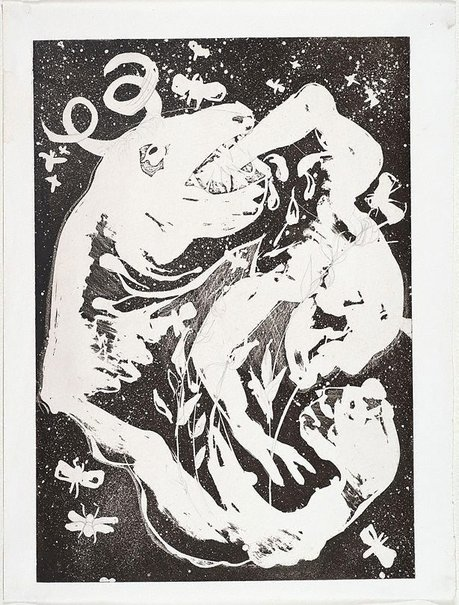 An image of (Illustration for Peter Porter's poem 'Introduction') by Arthur Boyd