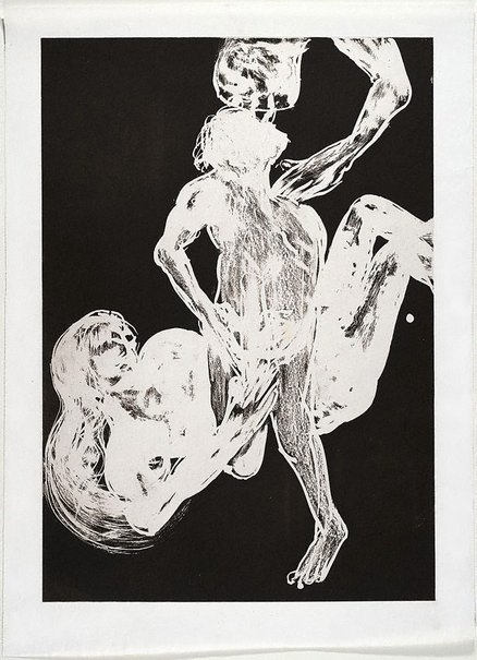 An image of (Illustration (a) for Peter Porter's poem 'Narcissus's revolutionary sayings, a selection') by Arthur Boyd