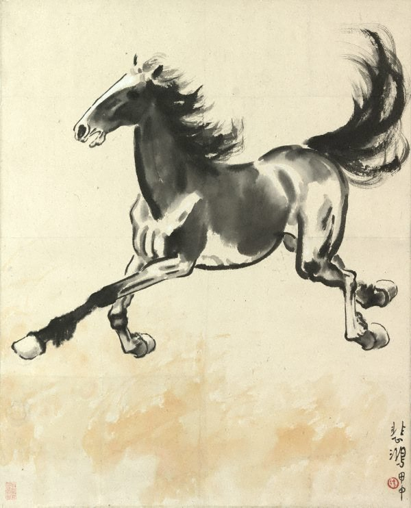 An image of Galloping horse
