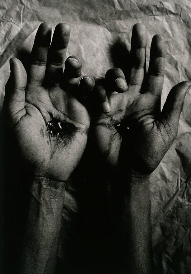 An image of Untitled (crucified hands)